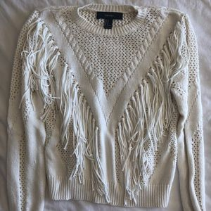 Sweaters - Chunky Fringe Sweater